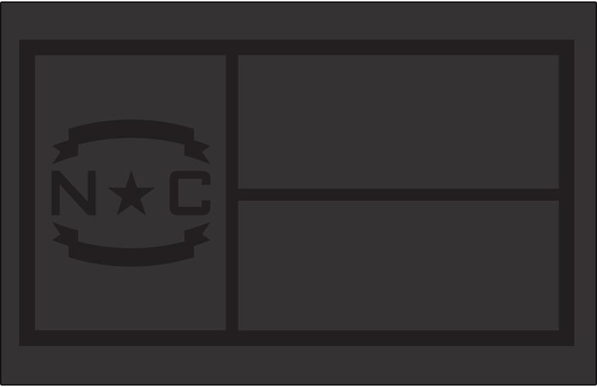 Carolina Hurricanes Logo Misc Logo (2018/19-Pres) - North Carolina state flag in tonal grey, worn on shoulder of Hurricanes third jersey SportsLogos.Net