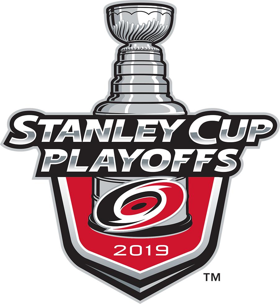 Carolina Hurricanes Logo Event Logo (2018/19) - Carolina Hurricanes 2019 Stanley Cup Playoffs Logo SportsLogos.Net
