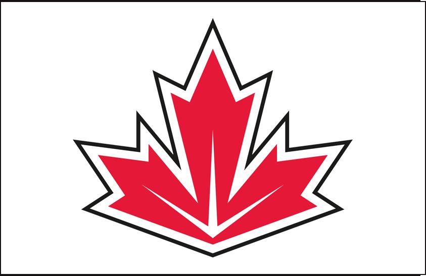 World Cup of Hockey Logo Jersey Logo (2016/17) - Team Canada light jersey logo for 2016 World Cup of Hockey SportsLogos.Net