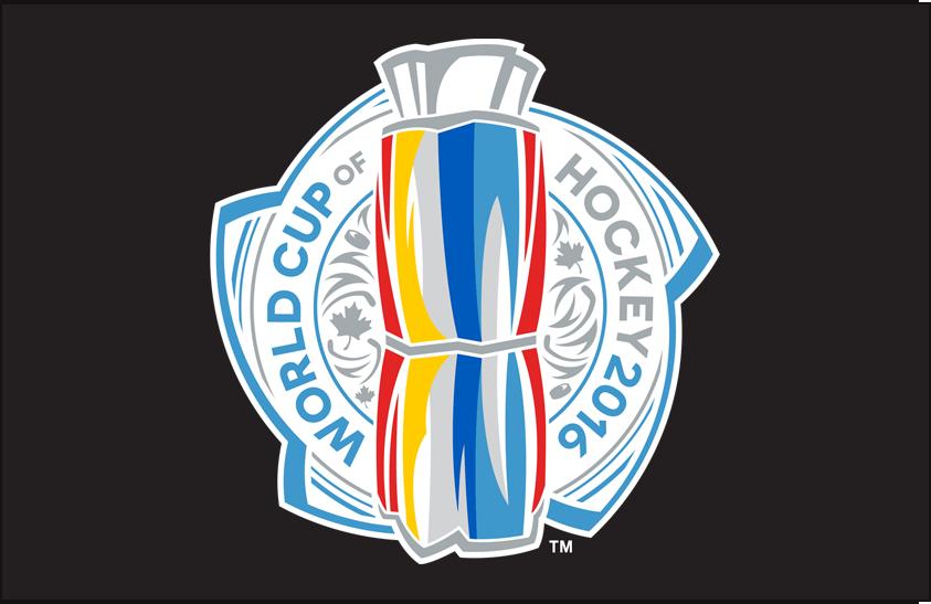 World Cup of Hockey Logo Primary Dark Logo (2016/17) - English version of the 2016 World Cup of Hockey Logo on black SportsLogos.Net
