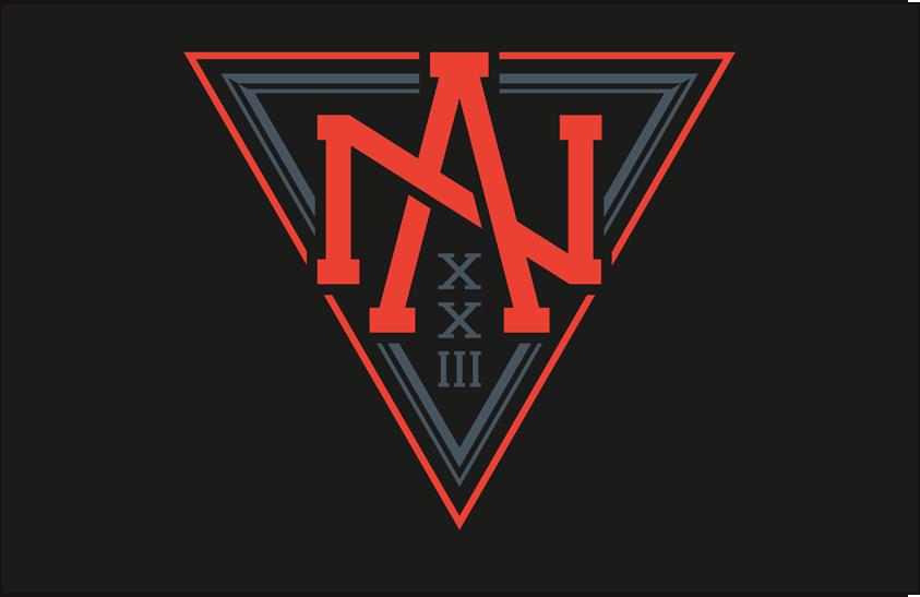 World Cup of Hockey Logo Jersey Logo (2016/17) - Team North America dark jersey logo for 2016 World Cup of Hockey SportsLogos.Net