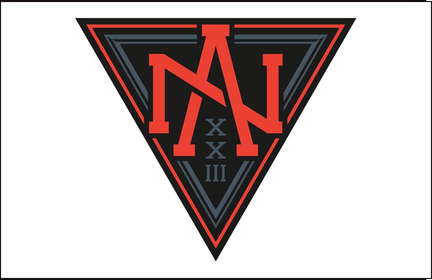World Cup of Hockey Logo Jersey Logo (2016/17) - Team North America light jersey logo for 2016 World Cup of Hockey SportsLogos.Net