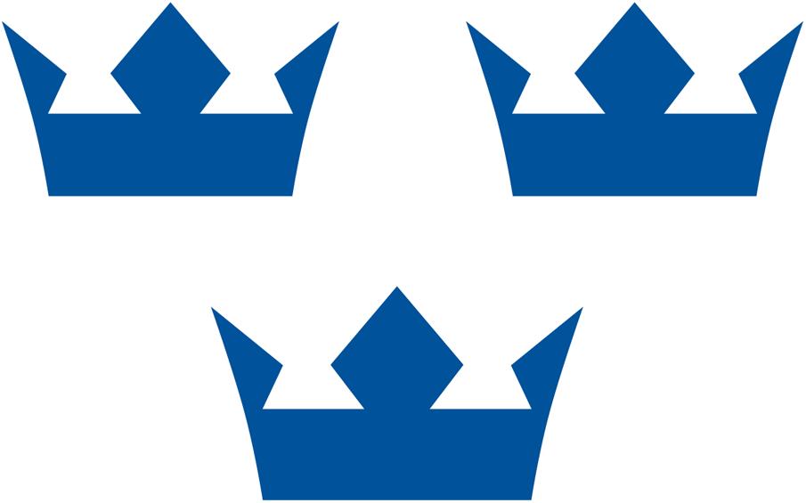 World Cup of Hockey Logo Team Logo (2016/17) - Sverige Tre kronor -- Team Sweden logo for the 2016 World Cup of Hockey SportsLogos.Net