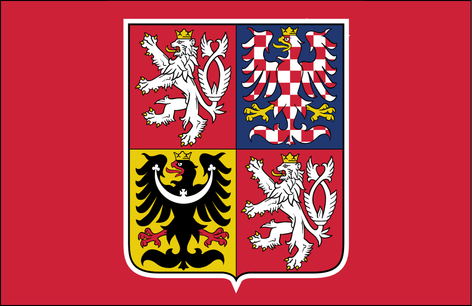 World Cup of Hockey Logo Jersey Logo (2016/17) - Team Czech Republic dark jersey logo for 2016 World Cup of Hockey SportsLogos.Net