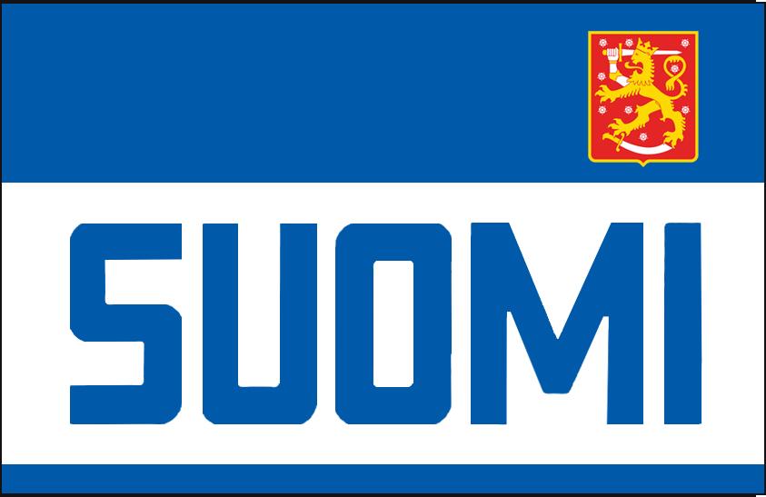 World Cup of Hockey Logo Jersey Logo (2016/17) - Team Finland dark jersey logo for 2016 World Cup of Hockey SportsLogos.Net