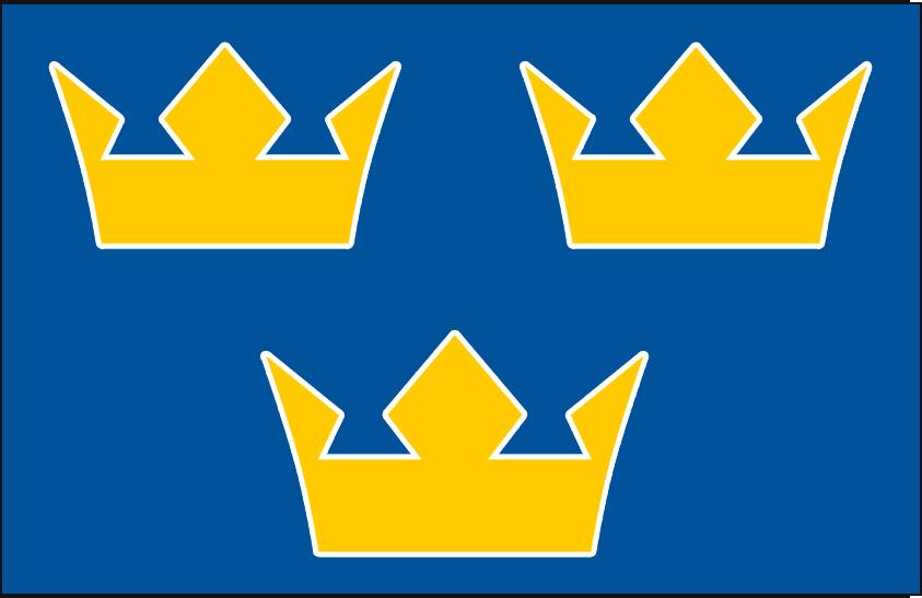 World Cup of Hockey Logo Jersey Logo (2016/17) - Team Sweden dark jersey logo for 2016 World Cup of Hockey SportsLogos.Net