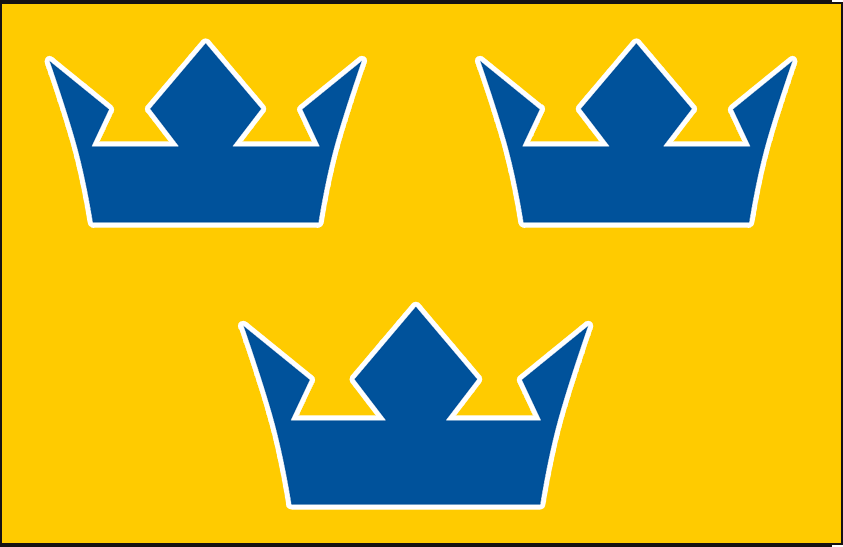 World Cup of Hockey Logo Jersey Logo (2016/17) - Team Sweden light jersey logo for 2016 World Cup of Hockey SportsLogos.Net