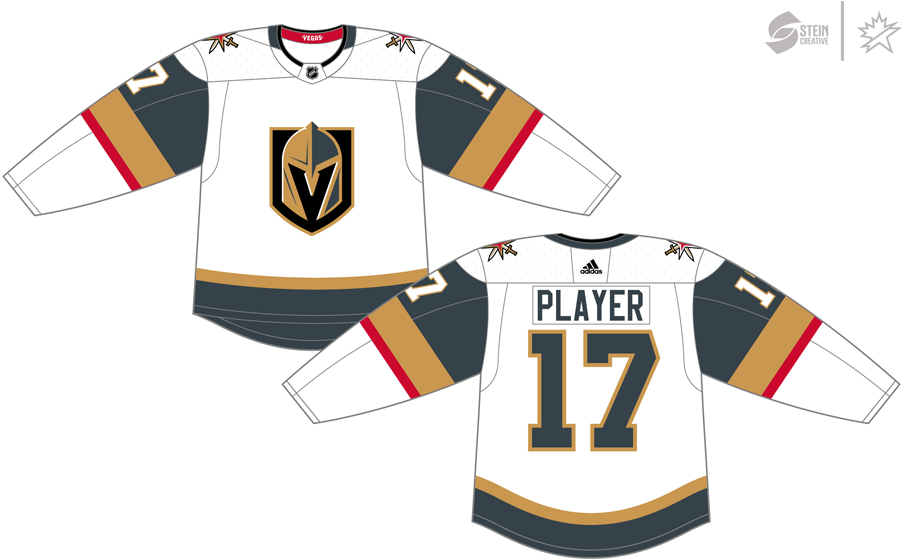 cheaper 60c96 4e2c8 Vegas Golden Knights Light Uniform - National Hockey League ...