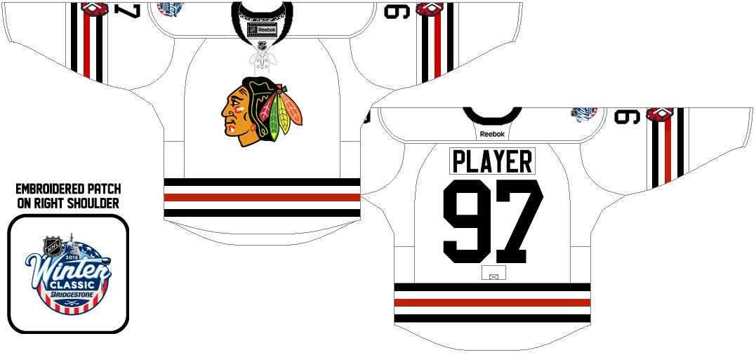 Chicago Blackhawks Uniform Special Event Uniform (2014/15) -  SportsLogos.Net