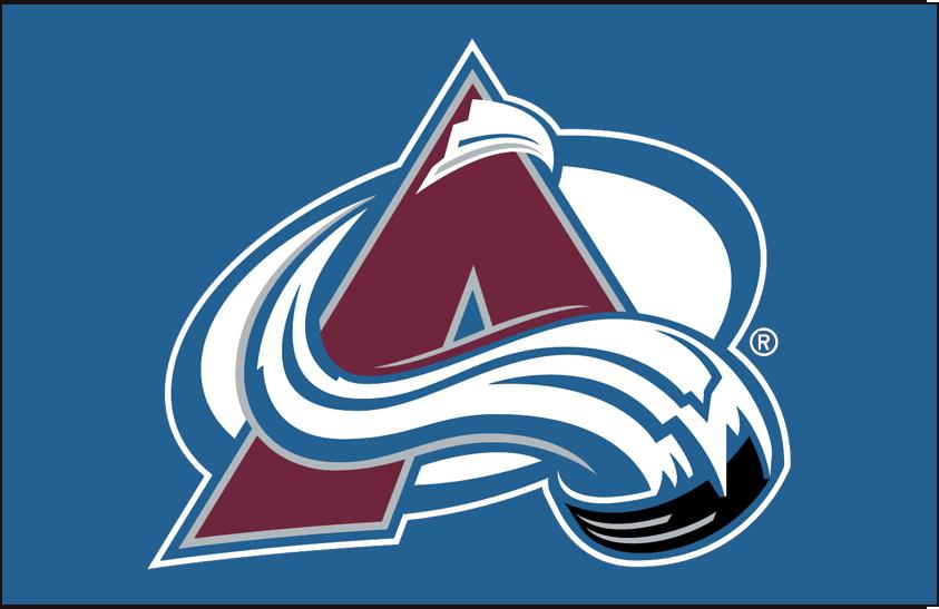 Colorado Avalanche Logo Primary Dark Logo (1999/00-Pres) - Colorado Avalanche primary logo on blue SportsLogos.Net