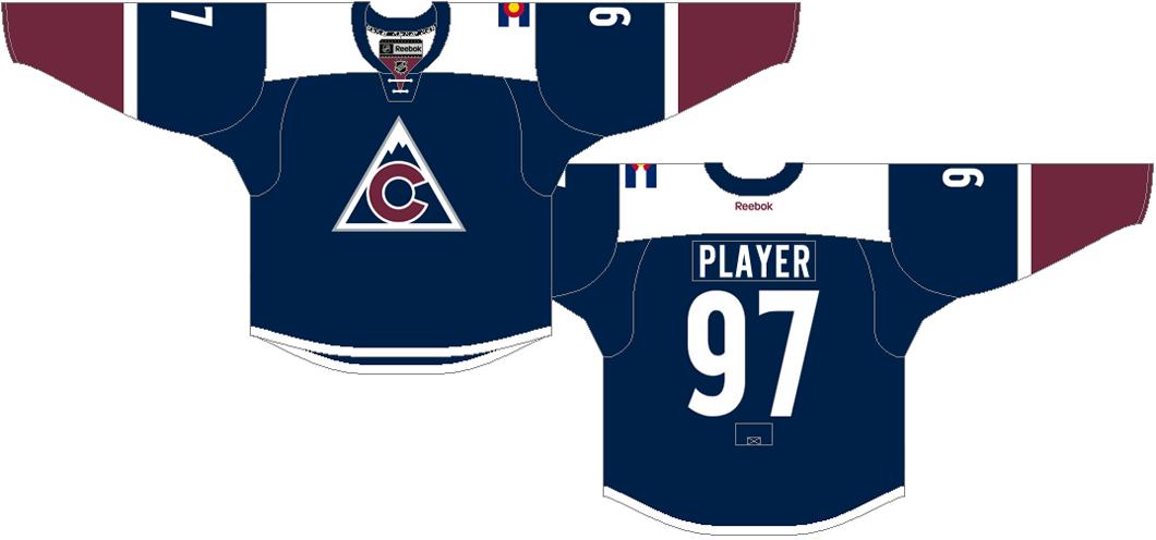 Colorado Avalanche Uniform Alternate Uniform (2015/16-2016/17) -  SportsLogos.Net