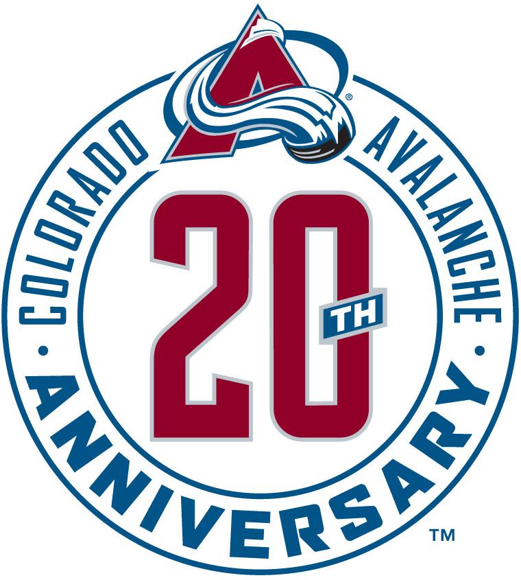 Colorado Avalanche Logo Anniversary Logo (2015/16) -  SportsLogos.Net
