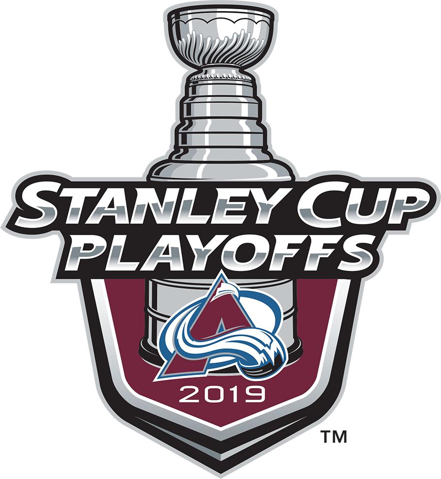 Colorado Avalanche Logo Event Logo (2018/19) - Colorado Avalanche 2019 Stanley Cup Playoffs Logo SportsLogos.Net