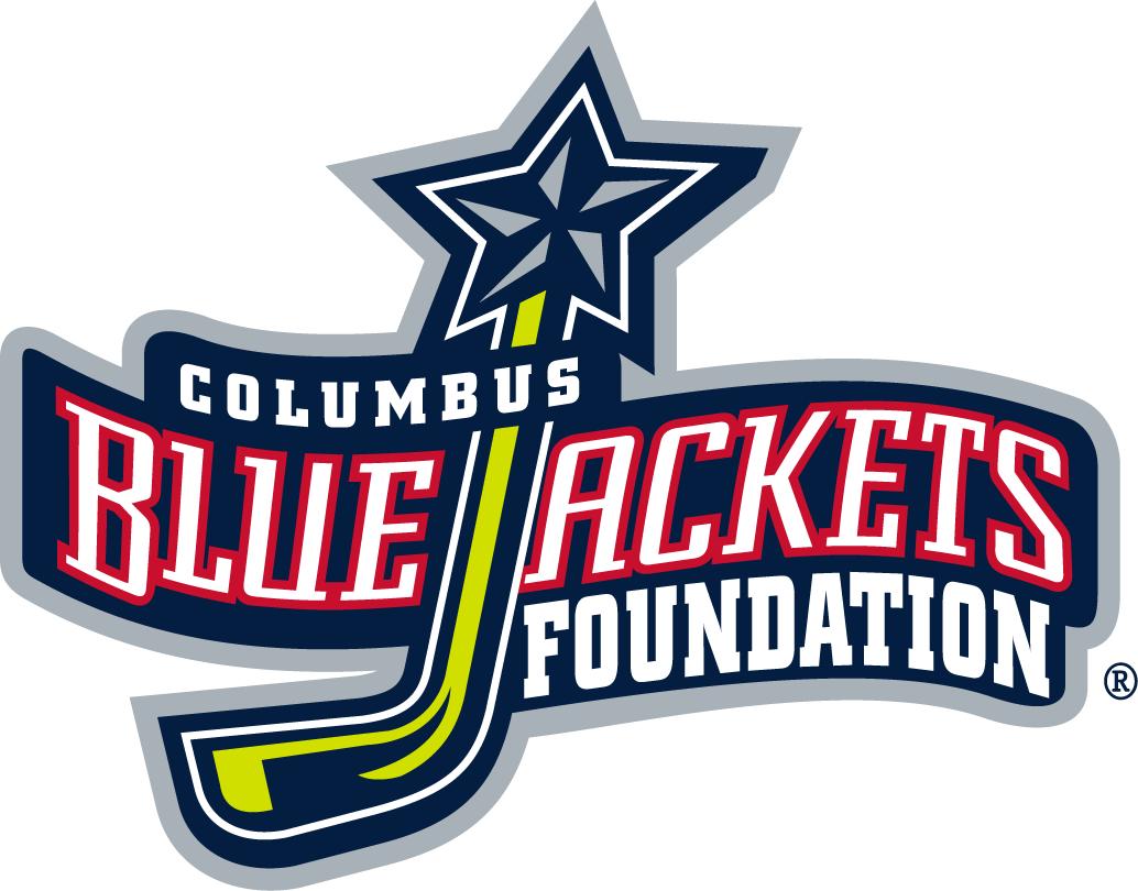 Columbus Blue Jackets Charity Logo National Hockey League Nhl