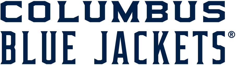 Columbus Blue Jackets Logo Wordmark Logo (2017/18-Pres) -  SportsLogos.Net