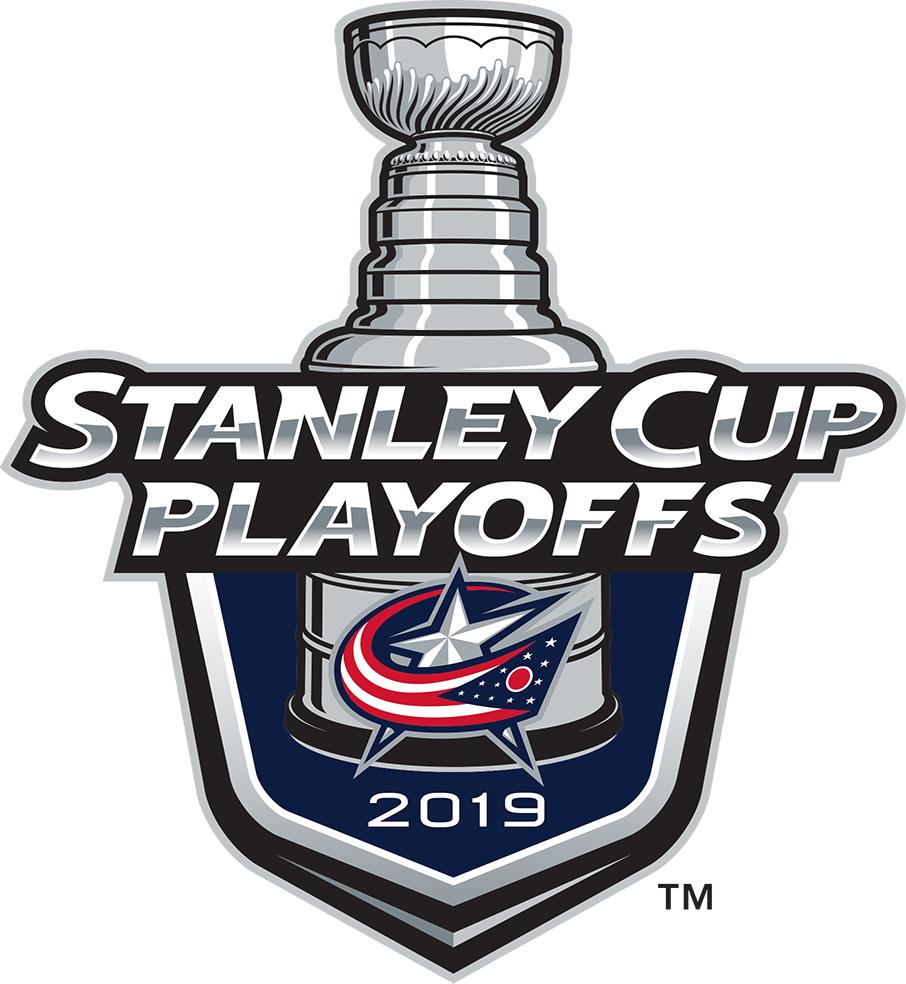 Columbus Blue Jackets Logo Event Logo (2018/19) - Columbus Blue Jackets 2019 Stanley Cup Playoffs Logo SportsLogos.Net
