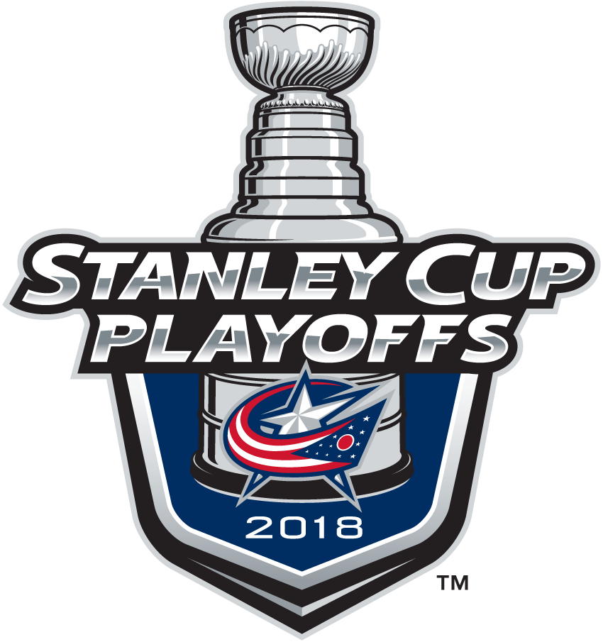Columbus Blue Jackets Logo Event Logo (2017/18) - Columbus Blue Jackets 2018 Stanley Cup Playoffs Logo SportsLogos.Net