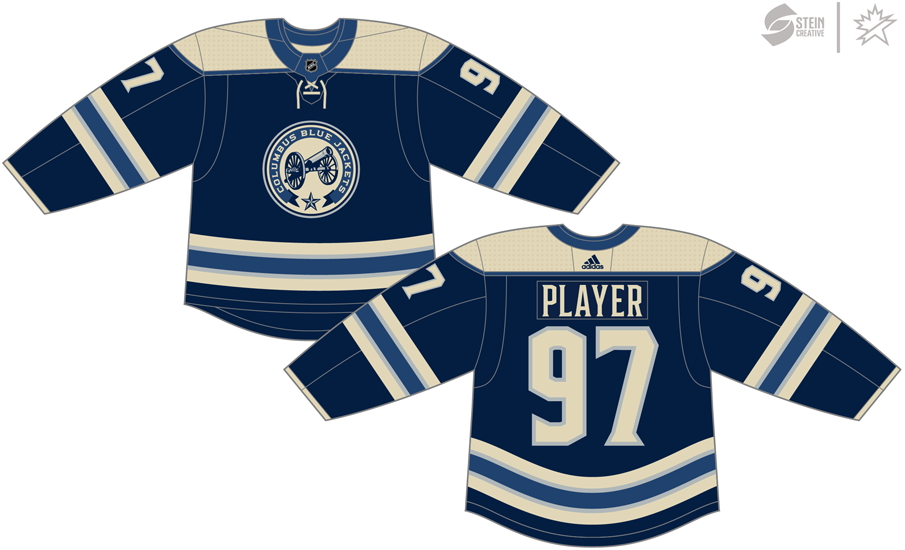 47cc0aa2fd9 Columbus Blue Jackets Alternate Uniform - National Hockey League ...