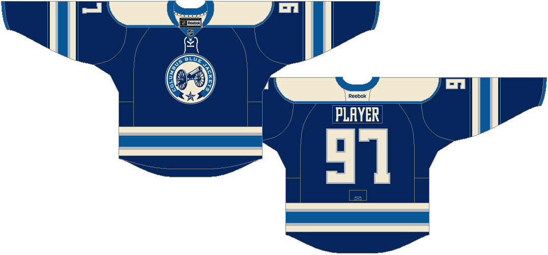 Columbus Blue Jackets Alternate Uniform - National Hockey League ...
