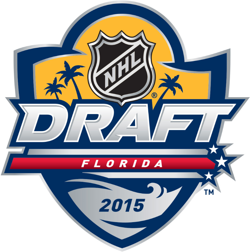 NHL Draft Logo Primary Logo (2014/15) - 2015 NHL Entry Draft - Sunrise, Florida SportsLogos.Net