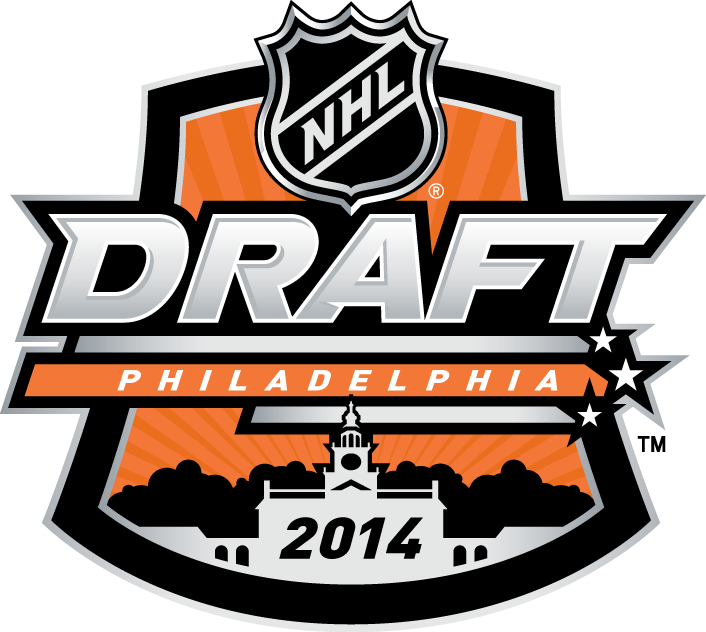 NHL Draft Logo Primary Logo (2013/14) - 2014 NHL Draft - Philadelphia, PA SportsLogos.Net