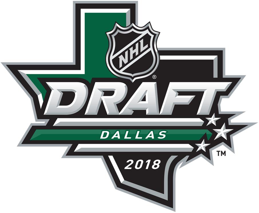 NHL Draft Logo Primary Logo (2017/18) - 2018 NHL Draft Logo, held at Dallas, Texas SportsLogos.Net