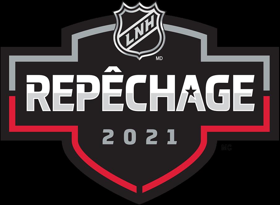 NHL Draft Logo Alt. Language Logo (2020/21) - The French language version of the 2021 NHL Draft logo. The logo says