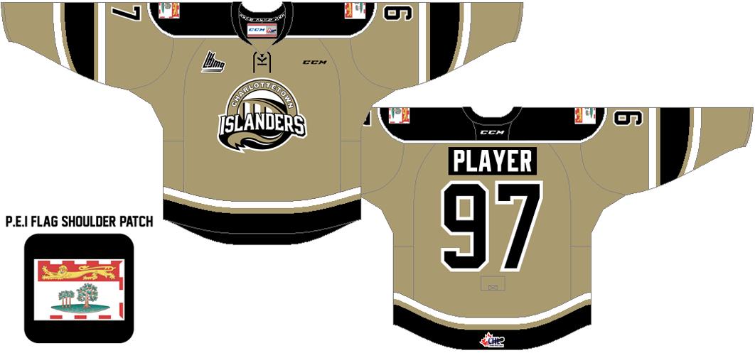 Charlottetown Islanders Uniform Alternate Uniform (2015/16-Pres) -  SportsLogos.Net