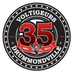 Drummondville Voltigeurs Logo Anniversary Logo (2016/17) -  SportsLogos.Net
