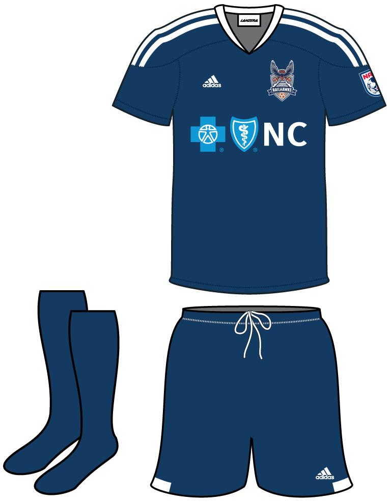 Carolina RailHawks FC Uniform Road Uniform (2013-2014) -  SportsLogos.Net