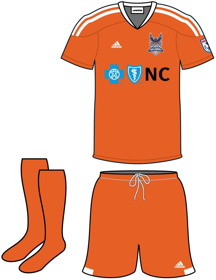 Carolina RailHawks FC Uniform Home Uniform (2013-2014) -  SportsLogos.Net