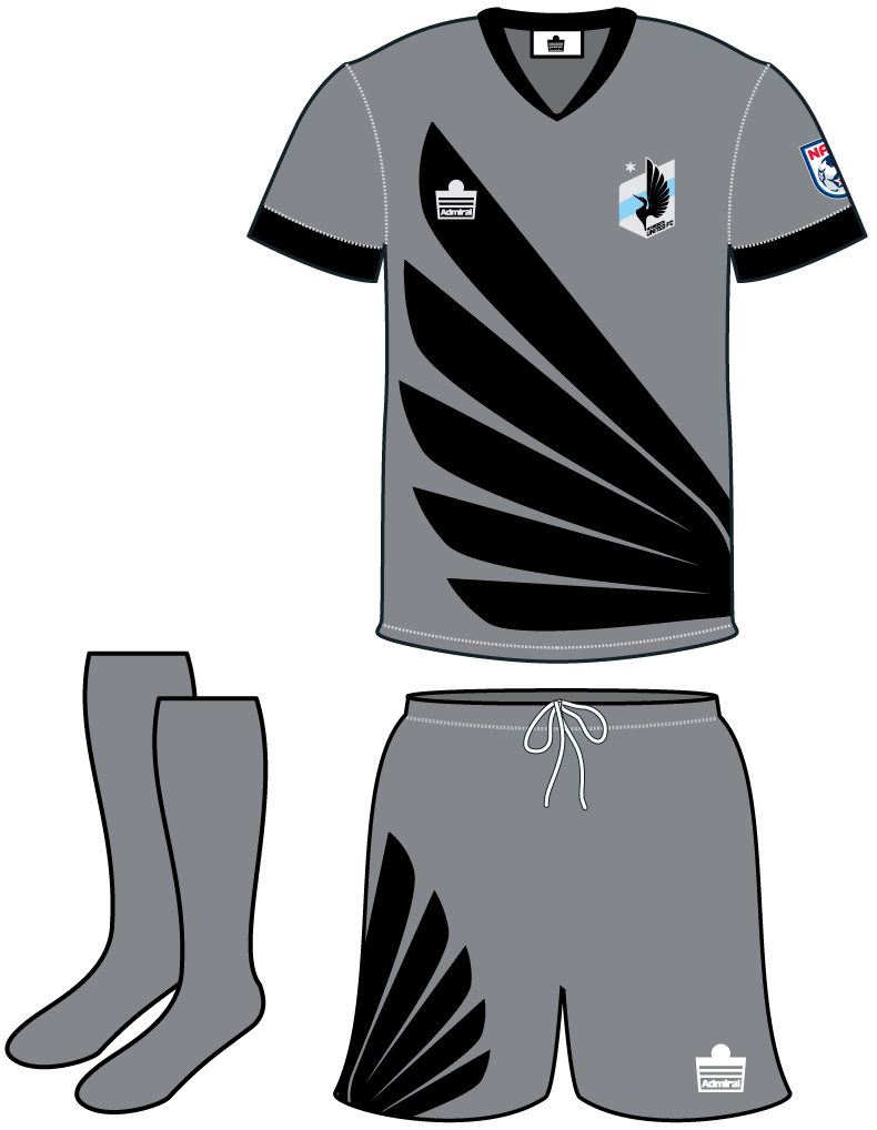 Minnesota  United FC Uniform Home Uniform (2013) -  SportsLogos.Net