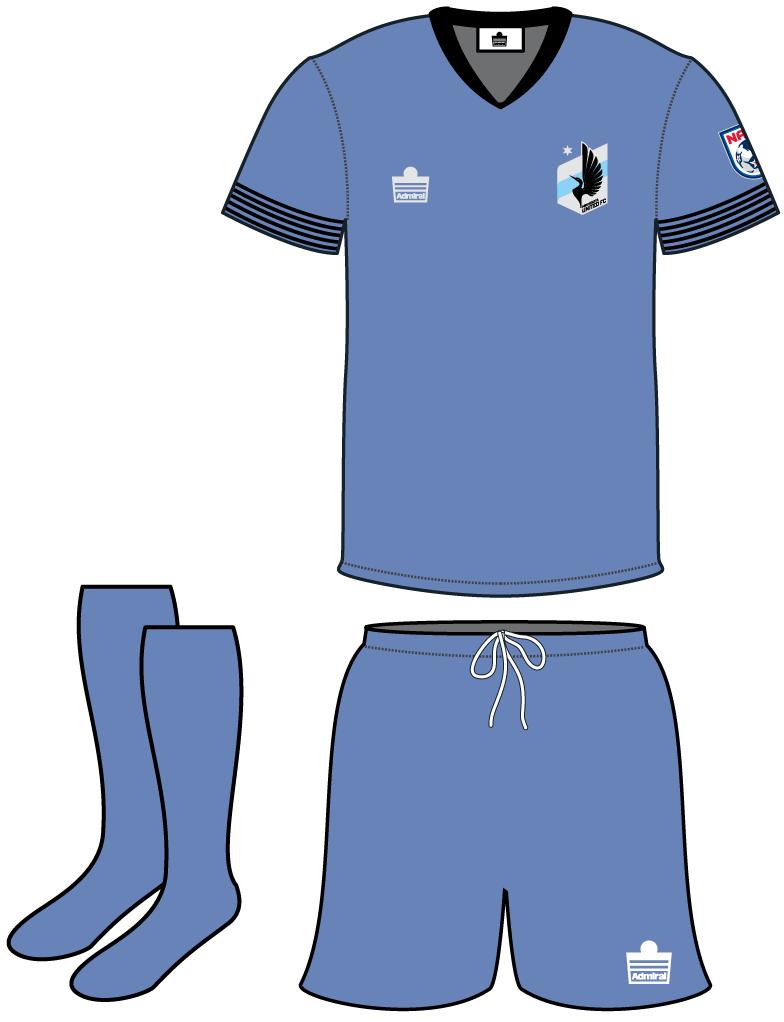 Minnesota  United FC Uniform Road Uniform (2013) -  SportsLogos.Net