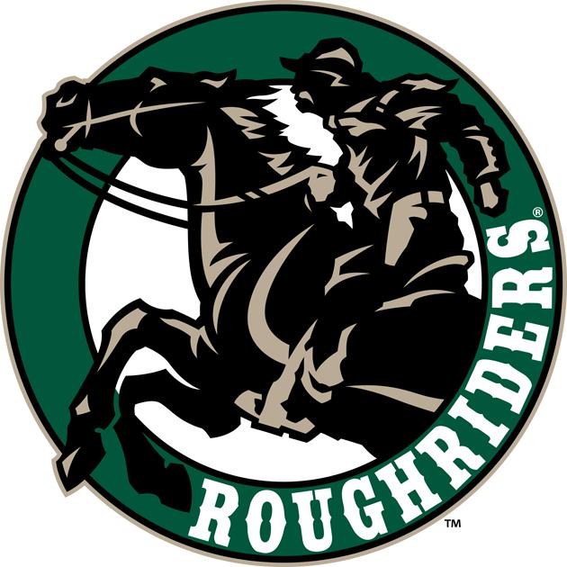 Cedar Rapids RoughRiders Logo Alternate Logo (2011/12-Pres) - Throwback style circle logo SportsLogos.Net