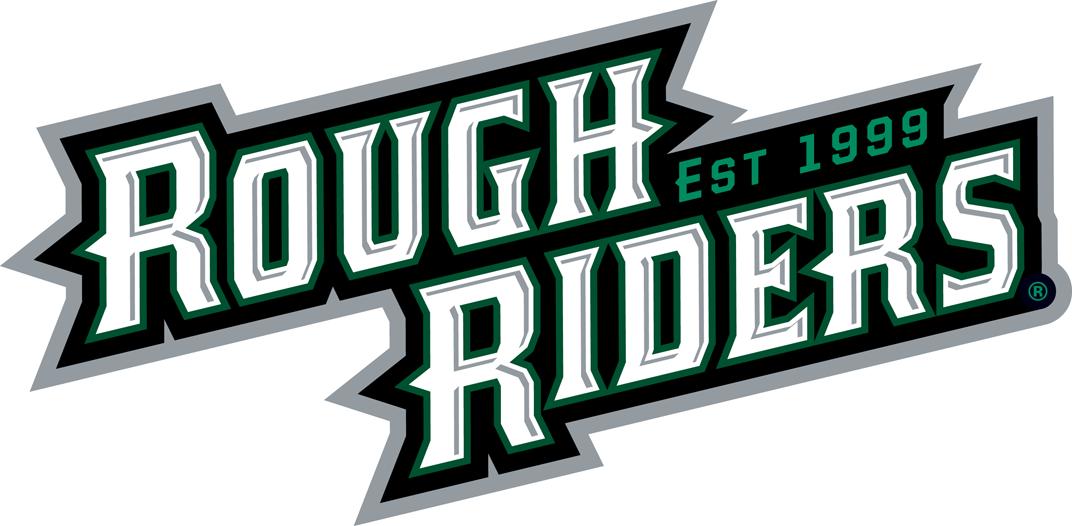 Cedar Rapids RoughRiders Logo Wordmark Logo (2012/13-Pres) -  SportsLogos.Net