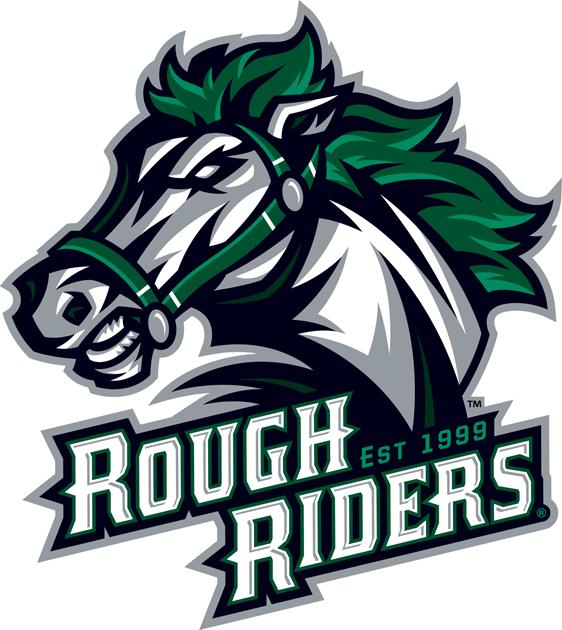 Cedar Rapids RoughRiders Logo Primary Logo (2012/13) -  SportsLogos.Net