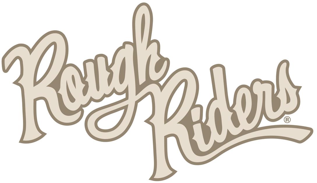Cedar Rapids RoughRiders Logo Wordmark Logo (2011/12-Pres) - Throwback style sript logo SportsLogos.Net