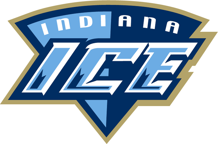 Indiana Ice Logo Secondary Logo (2004/05-2007/08) -  SportsLogos.Net