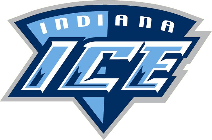 Indiana Ice Logo Secondary Logo (2008/09-2013/14) -  SportsLogos.Net