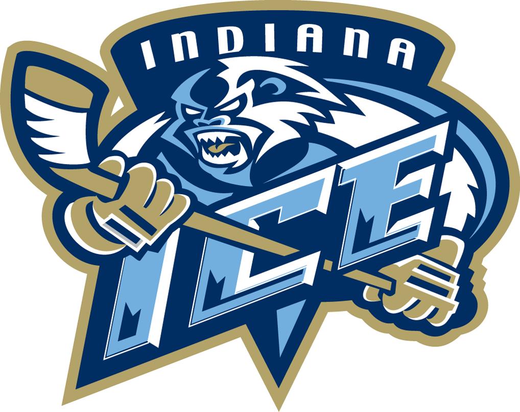 Indiana Ice Logo Primary Logo (2004/05-2007/08) -  SportsLogos.Net