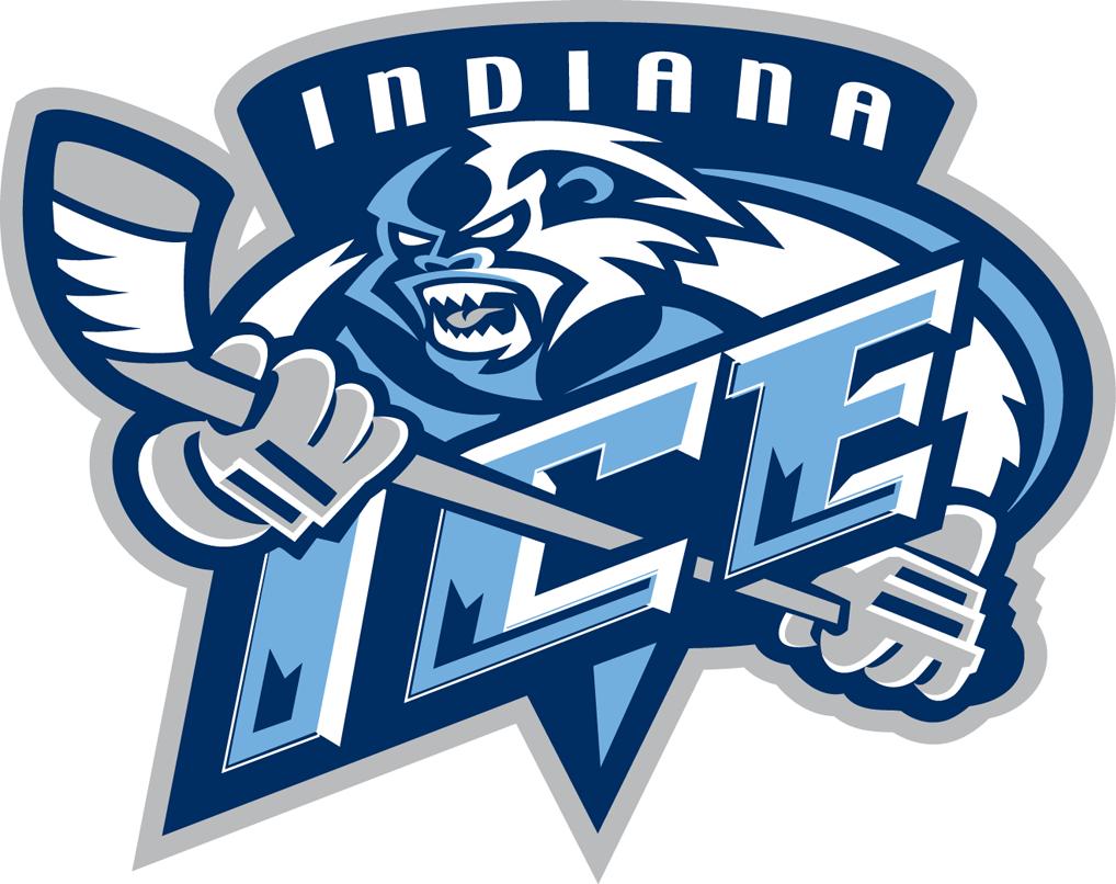 Indiana Ice Logo Primary Logo (2008/09-2013/14) -  SportsLogos.Net
