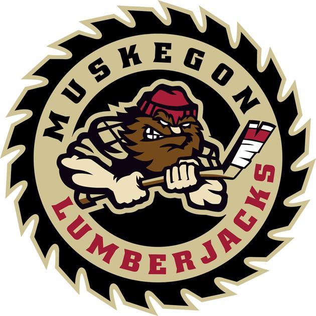 Muskegon Lumberjacks Logo Primary Logo (2012/13-Pres) -  SportsLogos.Net