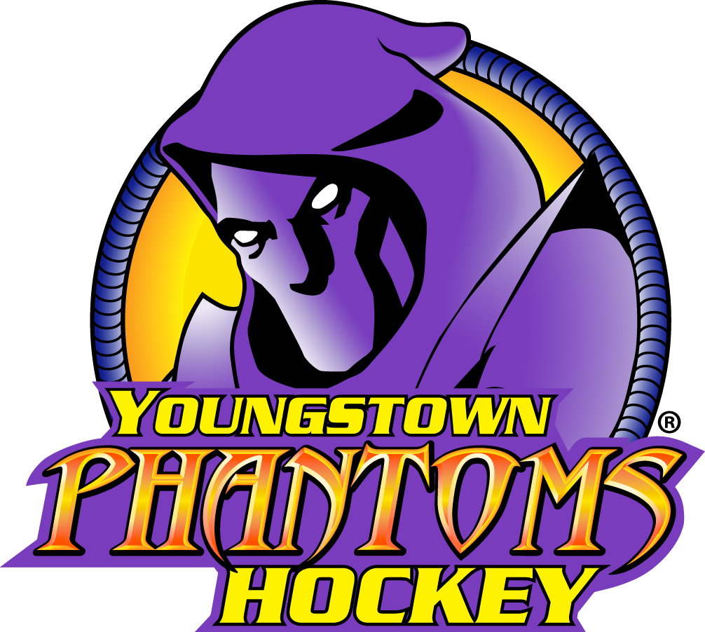 Youngstown Phantoms Logo Primary Logo (2014/15-Pres) -  SportsLogos.Net