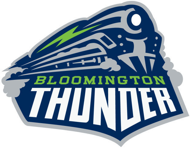 Bloomington  Thunder  Logo Primary Logo (2014/15-Pres) -  SportsLogos.Net