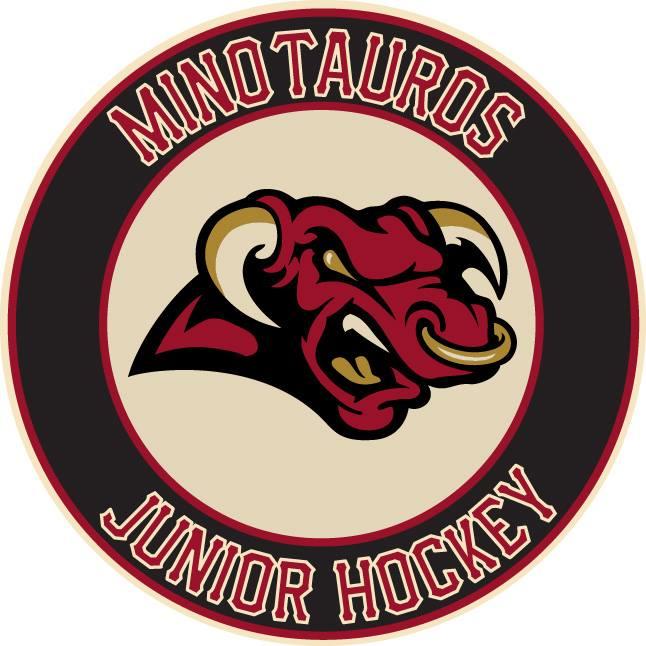Minot Minotauros Logo Primary Logo (2014/15-Pres) -  SportsLogos.Net