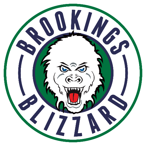 Brookings  Blizzard Logo Primary Logo (2016/17-Pres) -  SportsLogos.Net