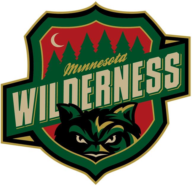 Minnesota  Wilderness Logo Primary Logo (2013/14-Pres) -  SportsLogos.Net