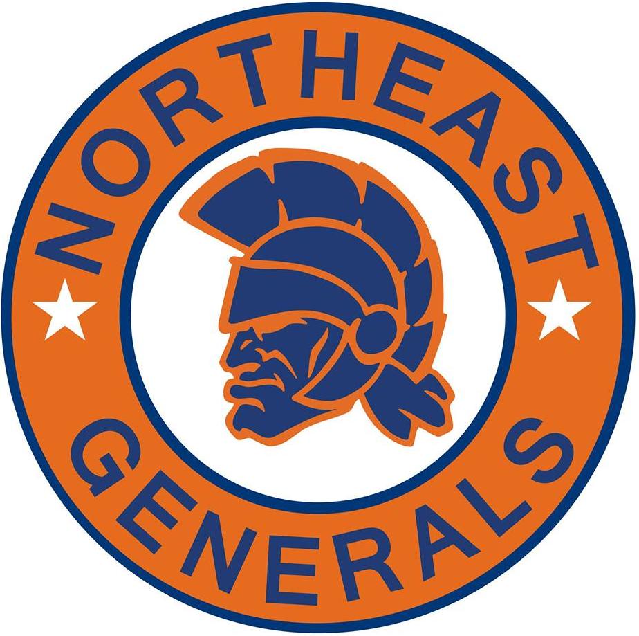 Northeast Generals Primary Logo North American Hockey League Nahl