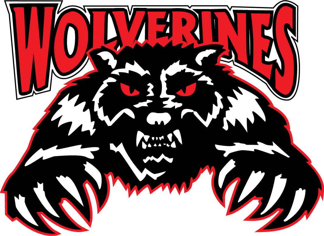 Whitecourt Wolverines Logo Primary Logo (2012/13-Pres) -  SportsLogos.Net