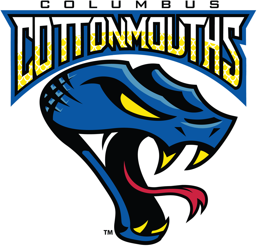 Columbus Cottonmouths Logo Primary Logo (2016/17) -  SportsLogos.Net